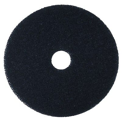 "3M Black Stripper Pad 7200 16"" Floor Care Pad (Case of 5) 16 inches"