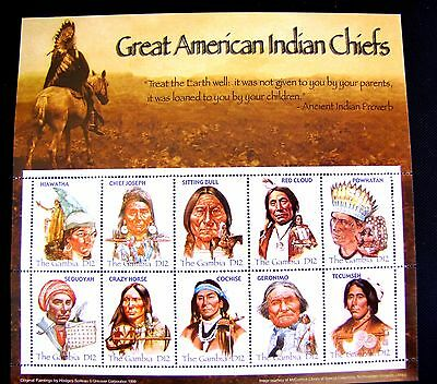 Great American Indian Chiefs (See  Note)