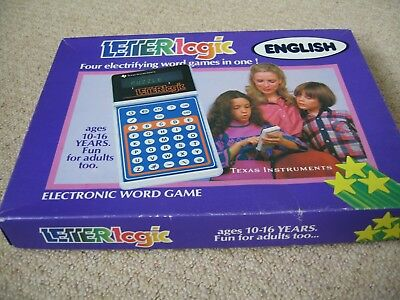 LetterLogic 80's Electronic Word Game