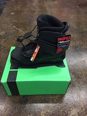 New Radar Profile Waterski Boot  Size:12 Right Front Alum. Frame