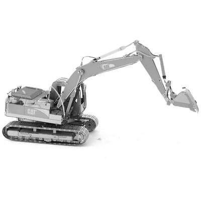 Newly 3D Cat Excavator Puzzle Styles Metal Assembly Model Creative Decoration