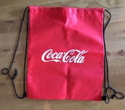 New Coca Cola Draw String Bag