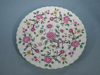 James Kent Old Foley Chinese Rose Dinner Plate