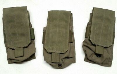 3-Eagle Industries RLCS Ranger Green Single Rifle Mag Pouch 1x2 MOLLE Green Tag