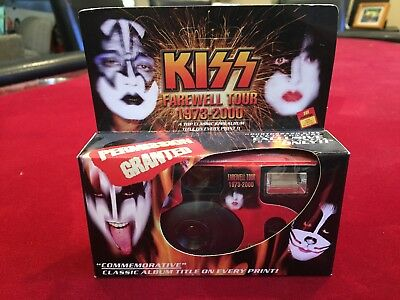 Kiss Tour Disposable Camera From 2000 Tour Official Unpunched