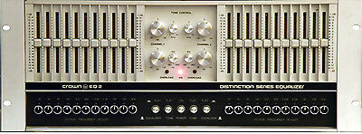 Crown Eq2 Synergistic 2 Channel Equalizer Made In Usa Rare Vintage Eq-2 #6