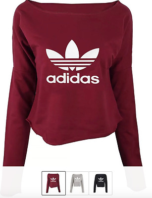 "Adidas Ladies/women Crop Top ""high Quality""On Sale One Sizs Fit"