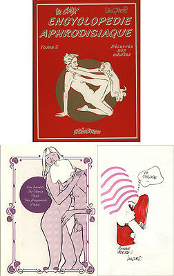 Lucques Tl Encyclopedie Aphrodisiaque #2+Serigraphie+Dessin Couleur