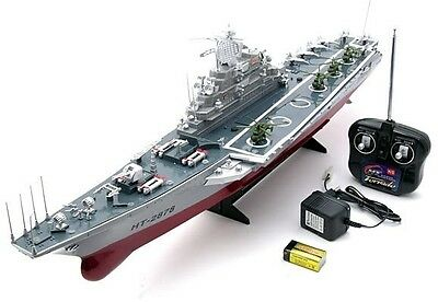 Adult kid Remote control boat ship 76cm rc radio control Aircraft Carrier