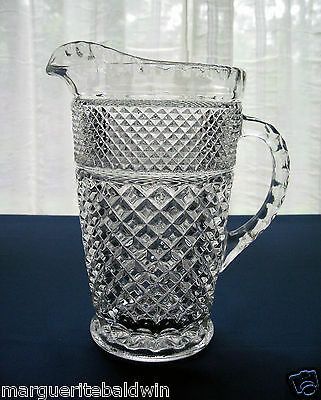 Anchor Hocking Glass Clear Wexford 64 ounce Pitcher
