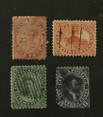 Canadian Stamp Selection of Early Used