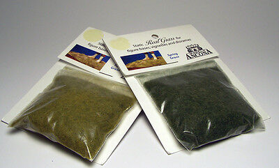 1:35 - 54mm Diorama Accessory - Static Grass Lot, Spring and Fall