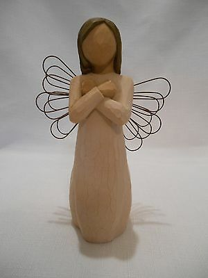 Demdaco - Willow Tree Figurine Titled - Sign For Love - Susan Lordi - 2003