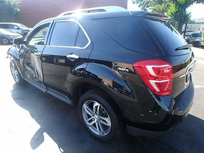 2016 Chevrolet Equinox LTZ 2016 Chevrolet Equinox LTZ Wrecked Repairable Priced to Sell Wont Last Must See!