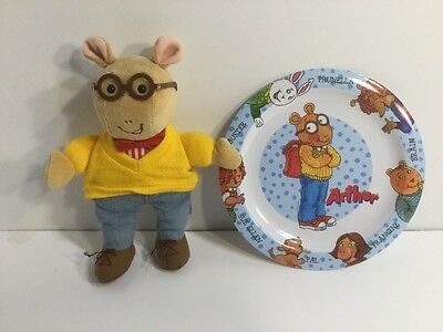 Arthur Plush Eden 1995 With Plate Trudeau Good Condition Fast Shipping