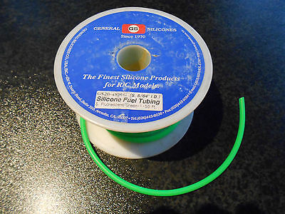 Silicone Fuel Tubing for Model Planes, Cars and Hobbies. 1Metre.