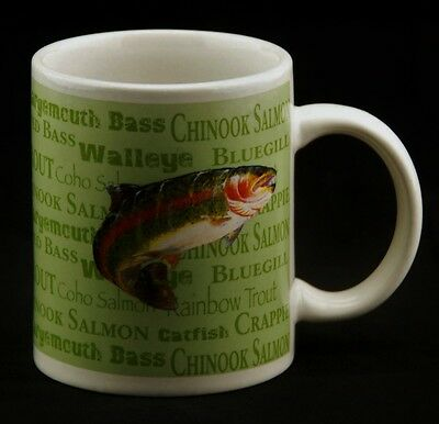 Field & Stream Rainbow Trout Fish Coffee Mug Cup Fishing Outdoor Adventures