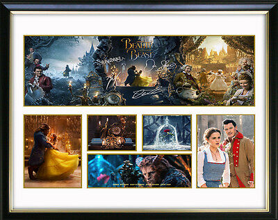 Beauty & The Beast Limited Edition Framed Memorabilia