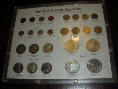 US Coins of the 20th Century Type Set 90% Silver Coins and Collectible free ship