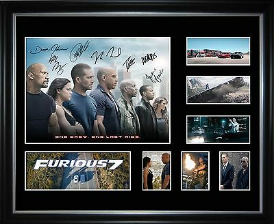 Furious 7 Limited Edition Framed Memorabilia
