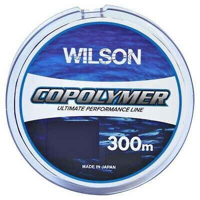 300m Spool of Blue Wilson Copolymer Fishing Line