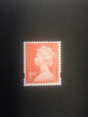 500 1st class used unfranked mixed Security machin stamps   no gum fv £325