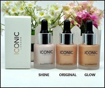 Iconic London Illuminator Drops - Original, Glow, Shine Full size 13.5ml