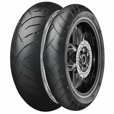 Maxxis Supermaxx ST Motorcycle/Bike/Motorbike Rear Tyre - 180 55 ZR17