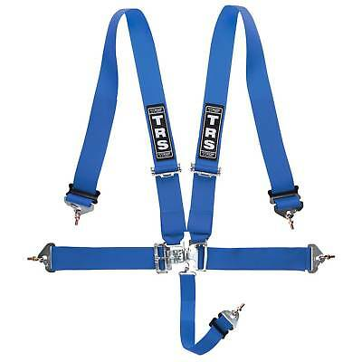 "TRS Nascar Superlite 3"" 5 Point Track / Rally Seat Harness In Blue - MH650-1002"