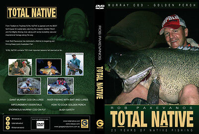 Rob Paxevanos  ToTAL NaTIVE DVD  NEW