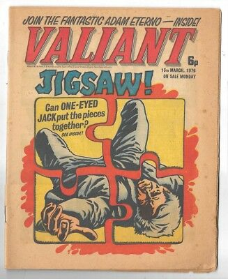 Valiant 13th Mar 1976 (high grade) Adam Eterno, One-Eyed Jack
