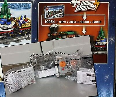 LEGO Power Functions 8879 8884 88000 88002 works with holiday train 10254