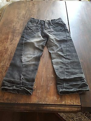 Boys Original Vintage Jeans Denim Pants Skater Punk Surf Rock Scull Goth 6 years