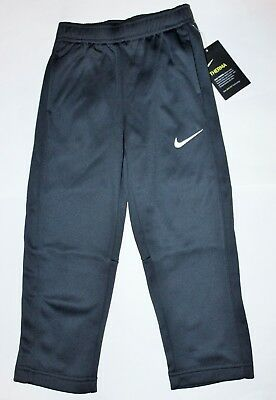Boys 4T Nike Pants Therma-fit Gray Athletic sweatpants Nwt $38