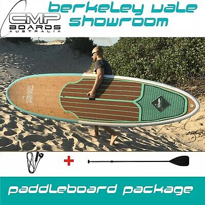 BAMBOO Stand Up Paddle Board PACKAGE NEW DESIGN FOR 2017 Crossover 10' + 10'6