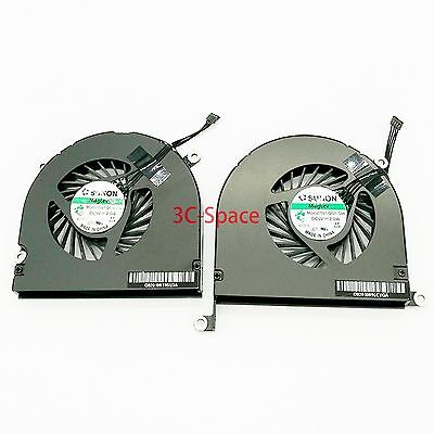 "100% New CPU Cooling Fan For 17"" MacBook Pro A1297 Left & Right 2009-2011"
