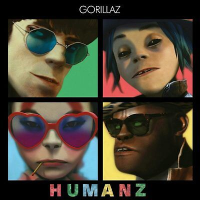 GORILLAZ - HUMANZ  CD  - Brand New and Sealed in Case