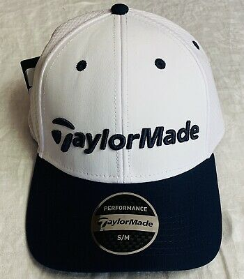 285df560be49a Taylormade Performance Cage Golf Fitted Hat Cap White Grey Black Red Blue