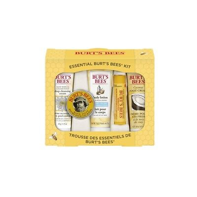 Christmas Holiday Unique Gift Set Burt's Bees Beauty Essential High Quality
