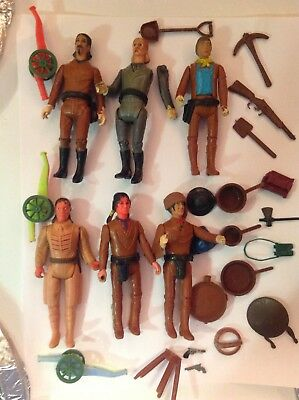 1975 Legends Of The West Carolina Enterprises.Lots of play ware with accesories