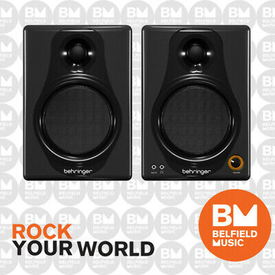 Behringer Media 40USB Active 40W Studio Monitors Pair 40-USB - Brand New - BM