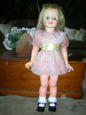 Vintage 1950's Sayco Companion Doll Patty Play Pal Style-RARE 2 Eye Colors!!