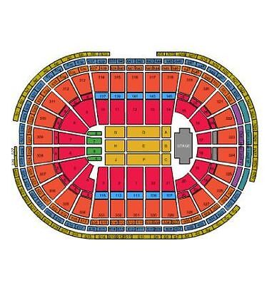 Pink tickets Private VIP area Front Row tickets 4/9/18 April 9, 2018 Boston 4/10