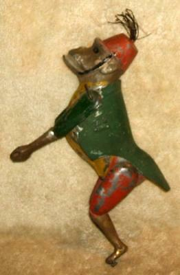 Early Antique Lehman Climbing Monkey Tin Toy