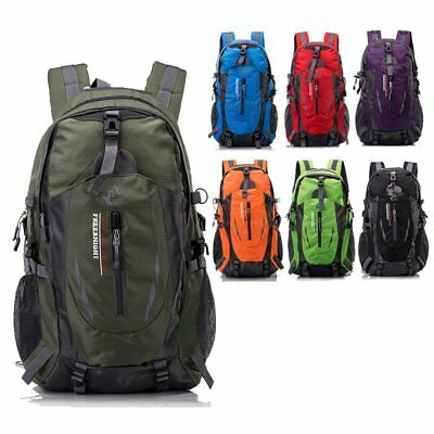 40L Hiking Camping Backpack Outdoor Sports Bag Comfortable Air Cushion Belt
