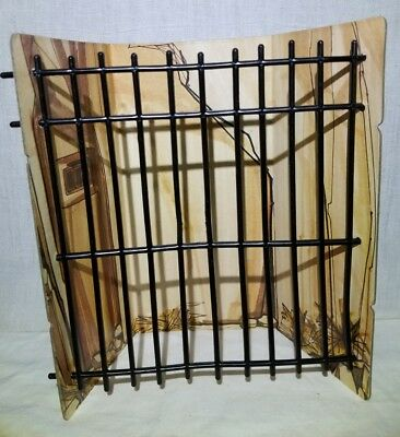 Planet of the Apes Mego Treehouse Jail Cell Prison 1970's