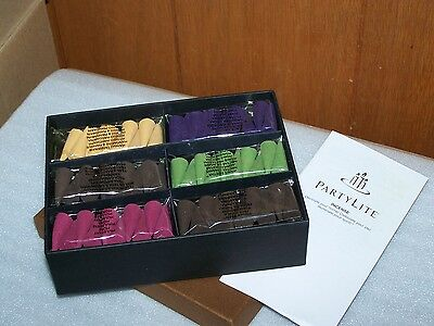 PartyLite Incense Set - NEW IN BOX AND SEALED - 60 Cones
