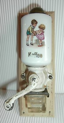 miniature Antique Wall Mount Mill Moulin a cafe  doll dinette child palying