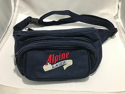 Blue Alpine Lager Beer Fanny Pack - Travel Pouch Waist Pack - Beer Promotional