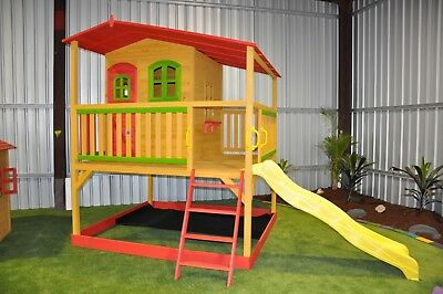Timber Wooden Kids Cubby House